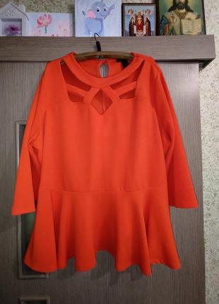 Шикарная блуза,мегабатал 56-62