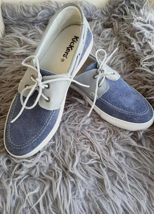 Мужские лоферы туфли кеды мокасины kickers