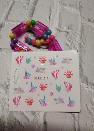 Наклейки для нігтів манікюру дизайну наклейки для ногтей маникюра дизайна