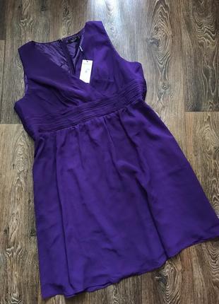 Новое шифоновое платье (22р)5xl