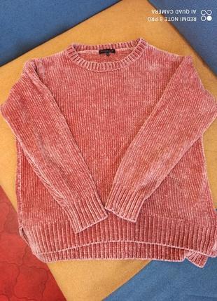 Плюшевый свитер от f&f