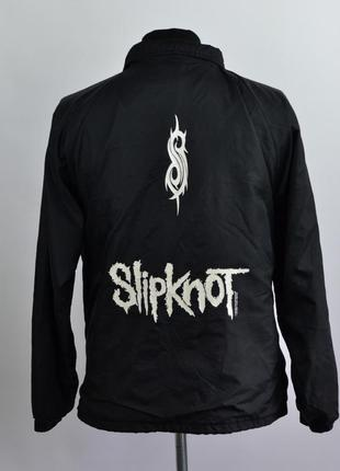 Мужская куртка бомбер slipknot мерч оригинал