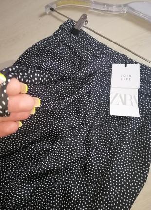 Летние широкие брюки zara3 фото