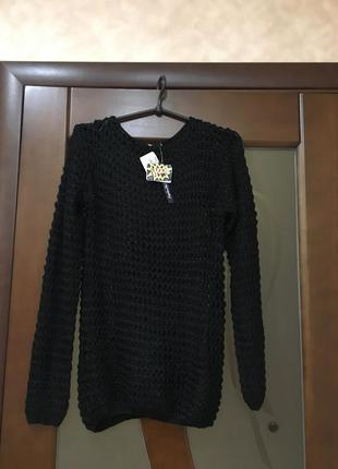 Ультромодный брендовый джемпер крупной вязки collezione р-р с 46 до 52-го