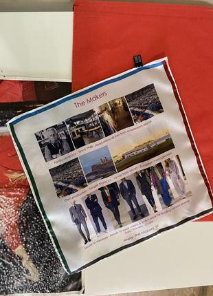 The makers носовой платок из 100% шёлк