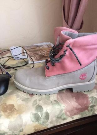 Timberland ботинки кожа