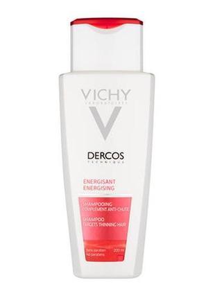 Шампунь тонизирующий с аминексилом vichy dercos energising shampoo 50 мл