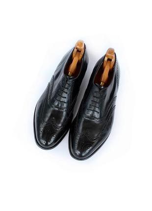 Barker кожаные туфли броги оксфорды англия премиум
