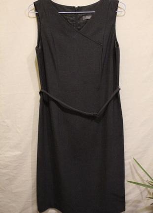 Стильное платье карандаш классический стиль костюмное платье