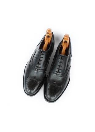 Velasca кожаные туфли оксфорды броги  италия оригинал