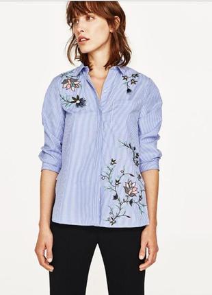 Блузка/рубашка/вышиванка zara
