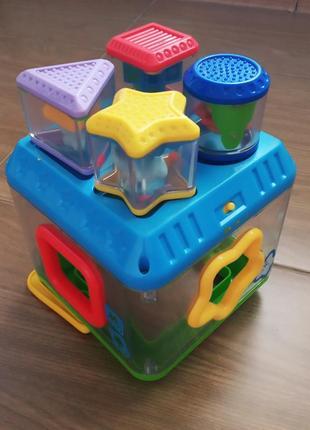 Іграшка розвиваюча, куб з формами
