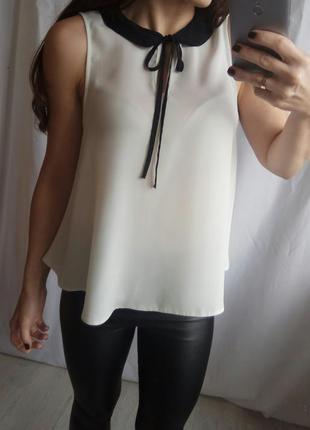 Блуза с красивым воротом2