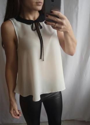 Блуза с красивым воротом1