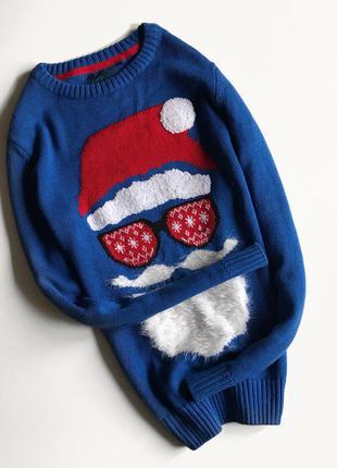 Яркий ,тёплый и красивый свитер next