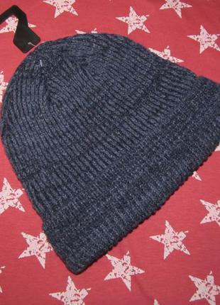 Утепленная флисом шапочка из полушерстяной пряжи для вашего любимого сыночка tcm tchibo