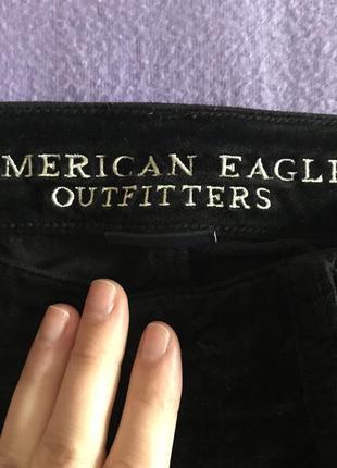 Велюровые джинсы american eagle