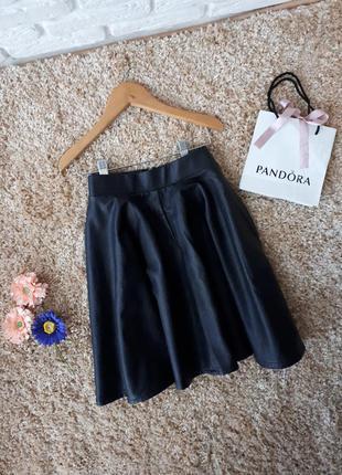 Стильная юбка из кож.зама