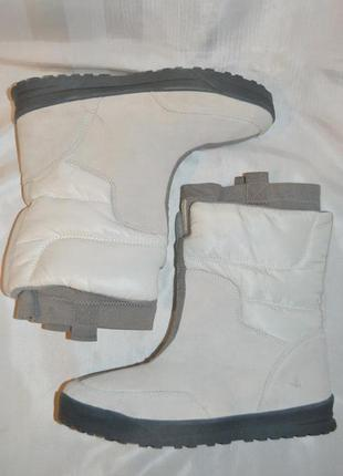 Морозостійкі ботинки замш термо дутики розміри 38,5 остання пара
