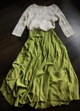 Ermanno scervino оригинал, блуза из кружева