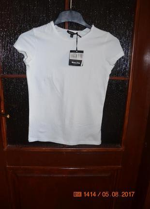 Базовая футболка massimo dutti