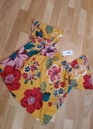Блуза кофточка в цветочный принт