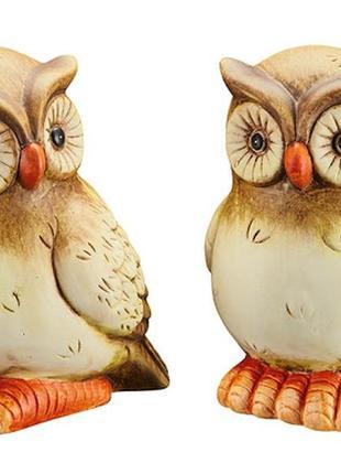 Шикарный керамический декор melinera совы.