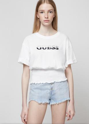 "Футболка ""guess"" s-ка(oversize)"