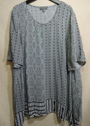 Вискозная блузка для шикарных девушек