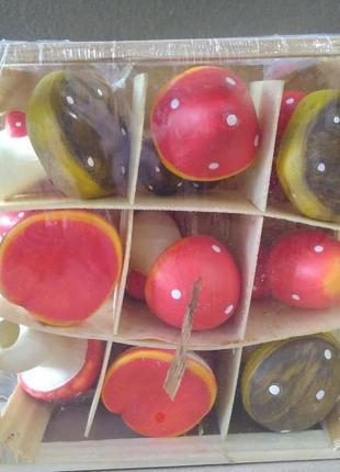 Шикарный керамический декор грибочки melinera