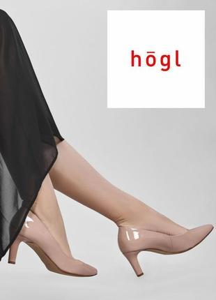 Стильные изящные туфли-лодочки австрийского бренда качественной женской обуви hogl.