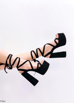 🌺🌸🍃* •. ¸босоножки на шнурках узкая ножка* •. ¸🍃🌸🌺