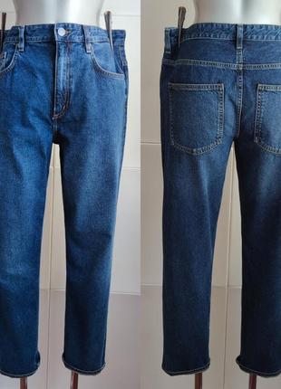 Стильные джинсы соs синего цвета