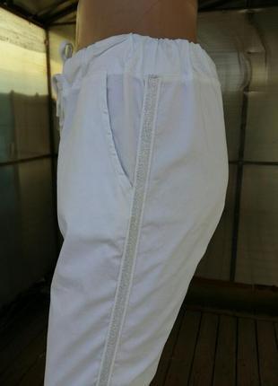Штаны брюки летние котон