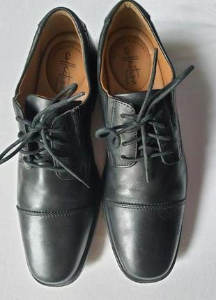 Мужские кожаные туфли clarks ultimate comfort collection 40 р.