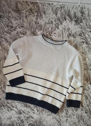 Стильный свитер prenatal на мальчика, детский джемпер на мальчика, детский свитер в полоску