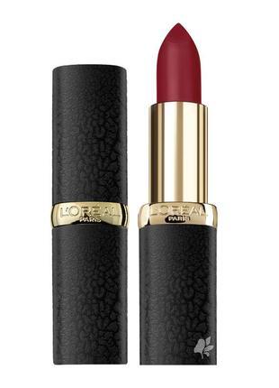 Помада loreal color riche matte 347 haute rouge