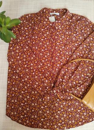Блуза в цветочний принт primark блуза в квітковий принт