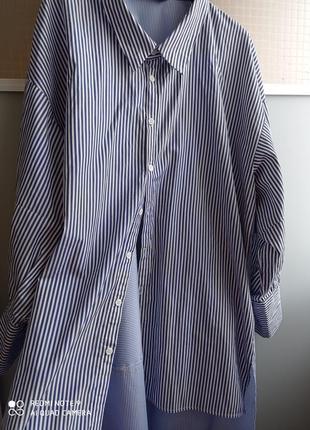 Рубашка длинная zara
