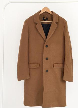Класичне тепле пальто від h&m