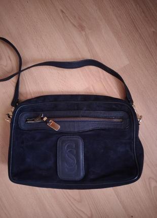 Итальянская кожаная сумка soldano