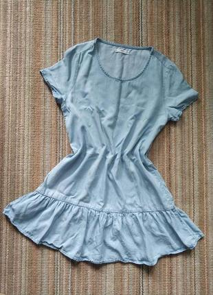 Стильное платье бэбидолл mango