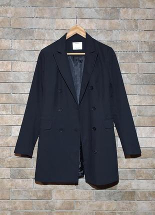 Bershka original длинный удлиненный пиджак