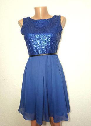 Платье нарядное пышная юбка р 12 rage