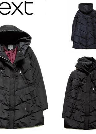 Теплое модное пальто от next
