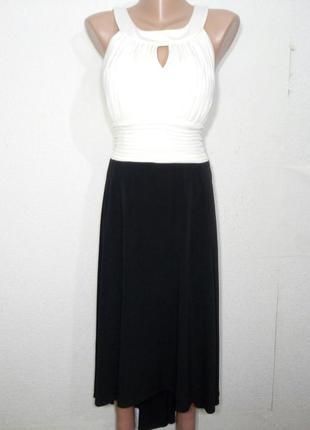 Платье миди нарядное р 16 sangria