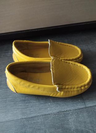 Детские мокасины туфли слипоны обмен