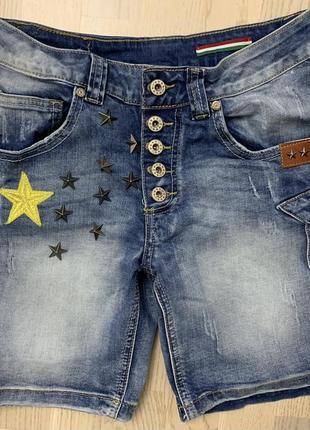 Крутые шорты  джинсовые denim р.s