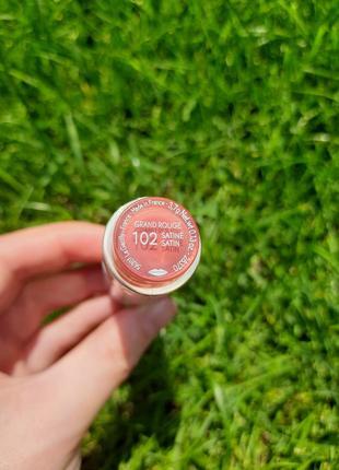 Губная помада grand rouge ив роше yves rocher 102 тон2 фото