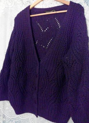 Кофта теплая фиолет. от dorothy perkins (u.k.)